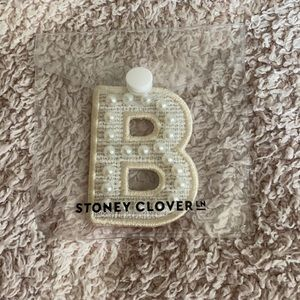 Stoney Clover White Pearl B Patch